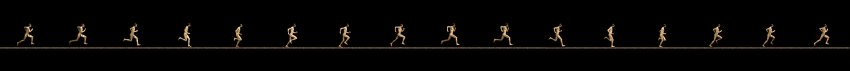 Muybridge's running man
