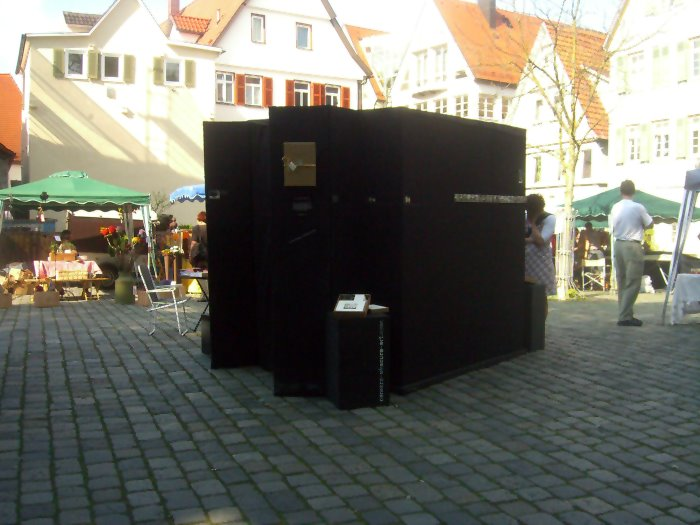 Camera Obscura Unterwegs