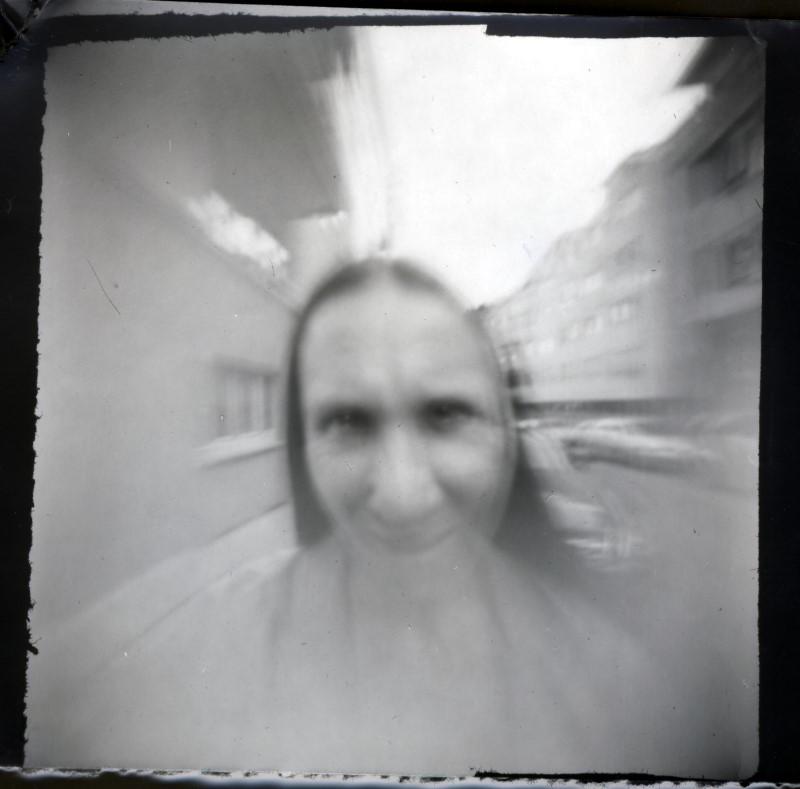 Camera Obscura Selbstportrait