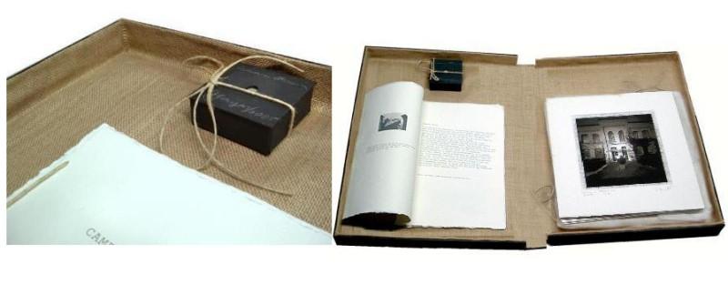 Camera Obscura - Monolithy, Künstler Buch für Kaffee- und Teehaus Hagen