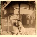 Selfies mit der Lochkamera, Portrait mit Camera Obscura-