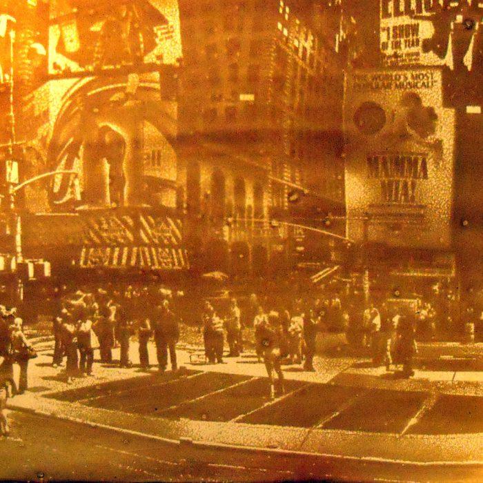 New York, Heliographie nach Joseph Nicéphore Niépce