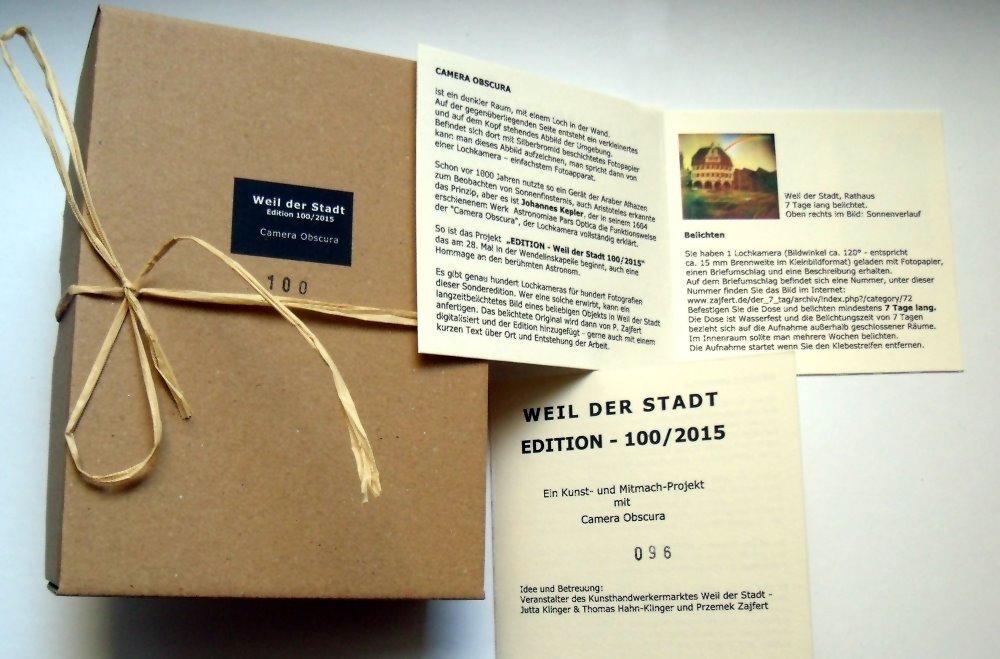 Teilnahmeset - Weil der Stadt, Edition 100/2015